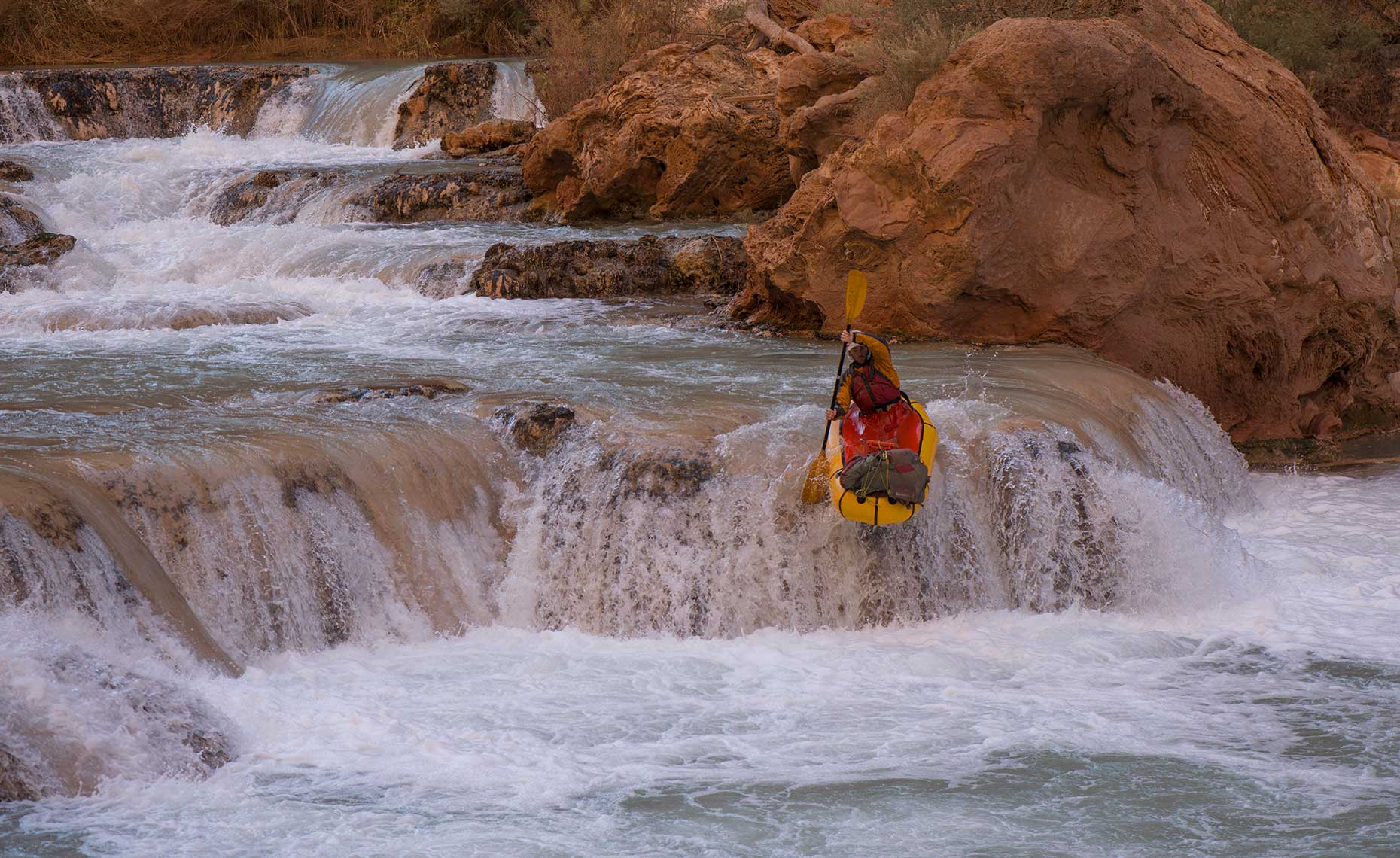 Grand Canyon Packrafting
