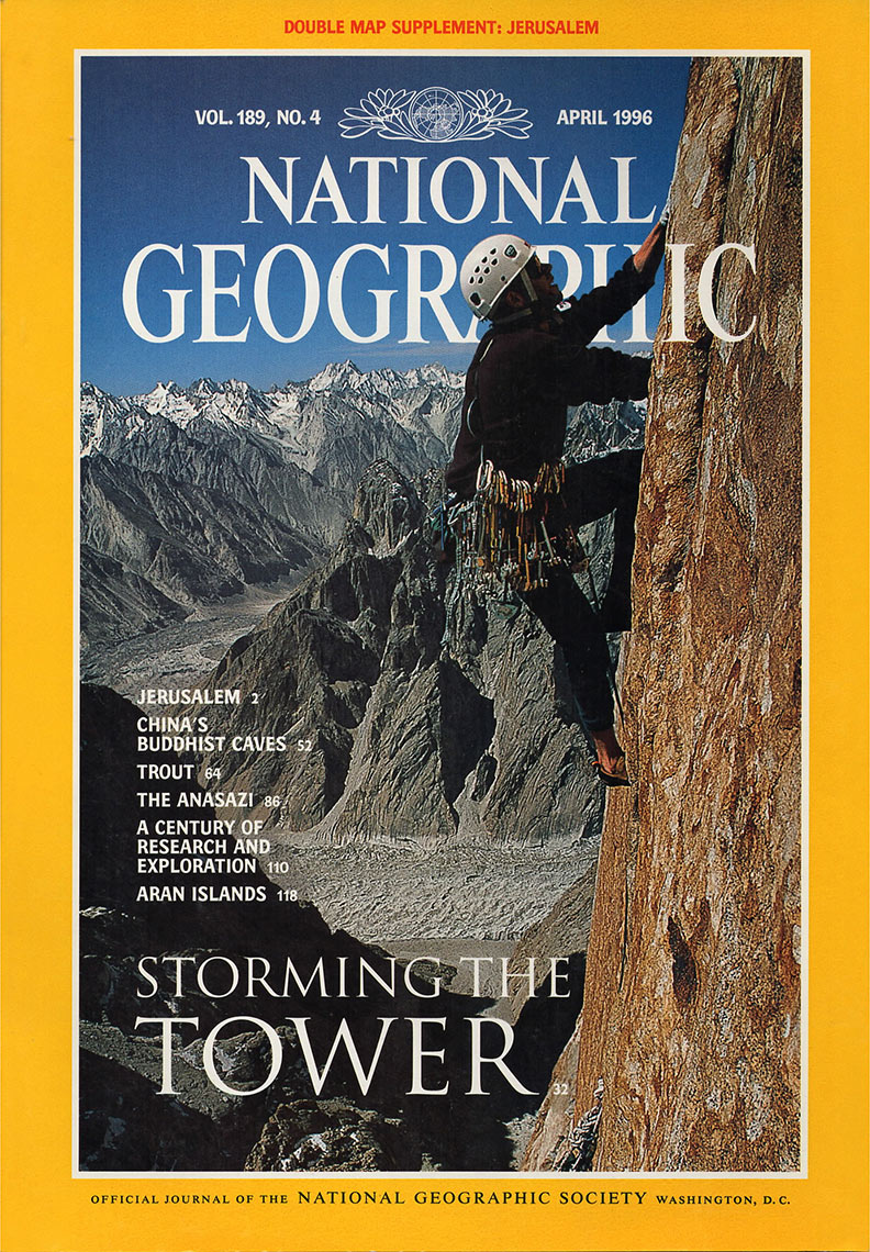Cover National Geographic magazine