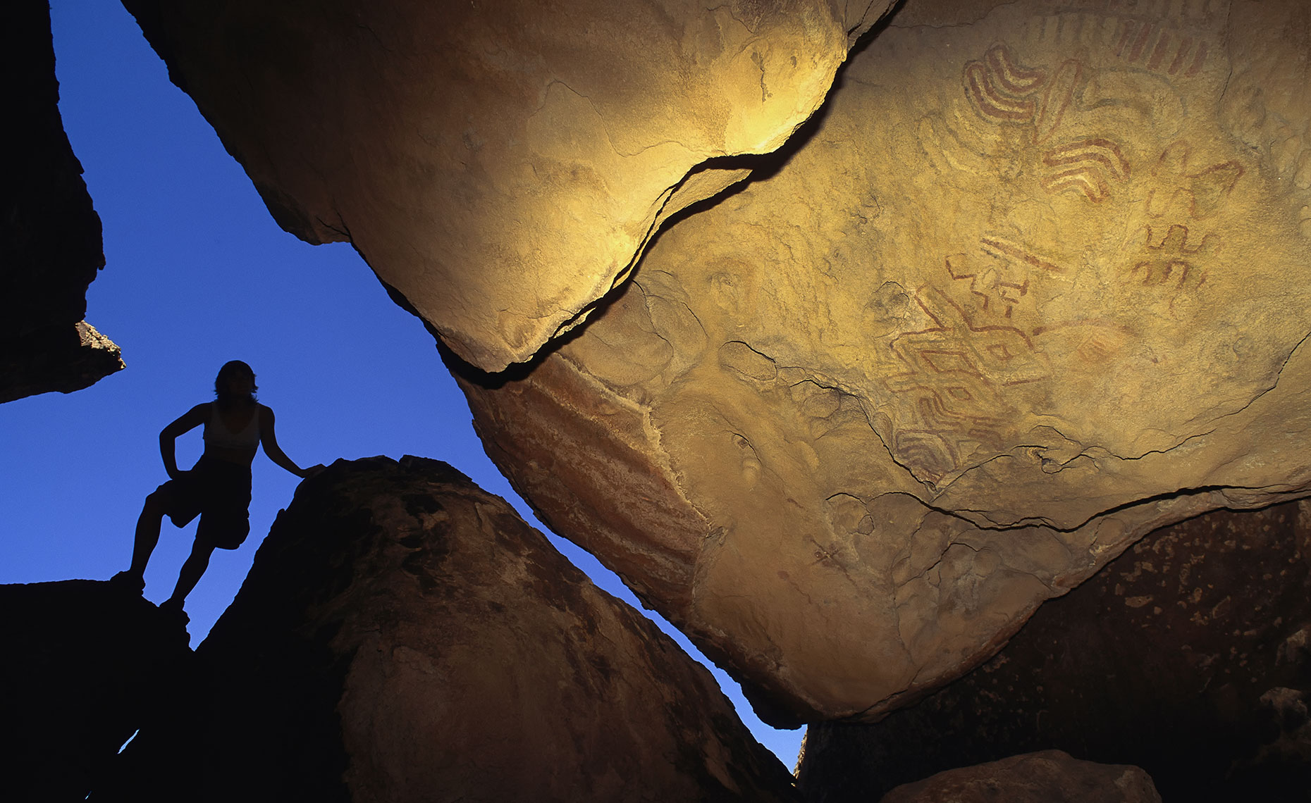 Pictographs Texas